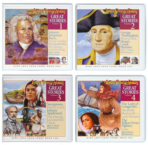 Lot - Your Story Hour Great Stories on CD Volumes 1-12 NEW Audio Drama Story