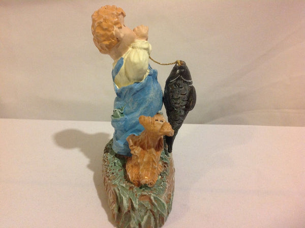 Jonah Hand Sculpted Collectable Figurine And God Bless Me! Kathie Alford
