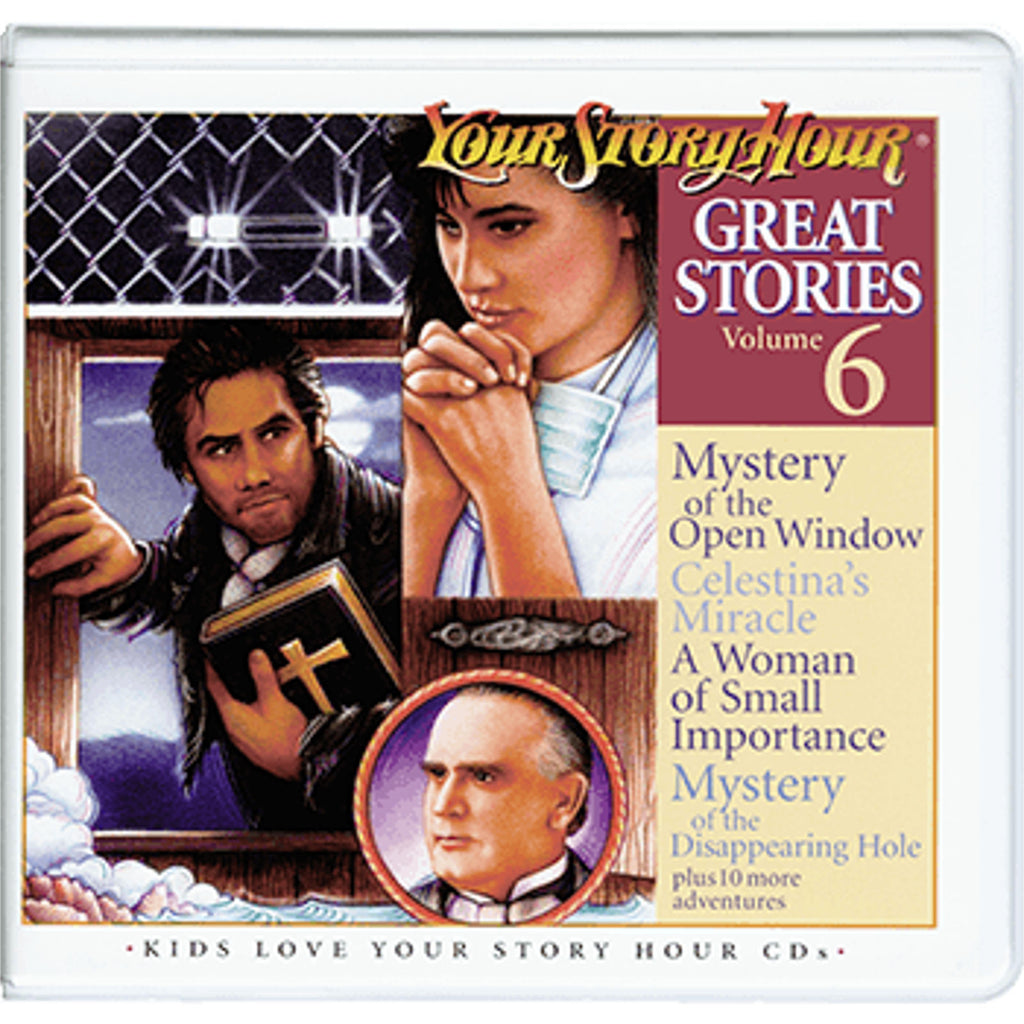 Your Story Hour Great Stories Volume 6 Audio CD Drama Christian Stories