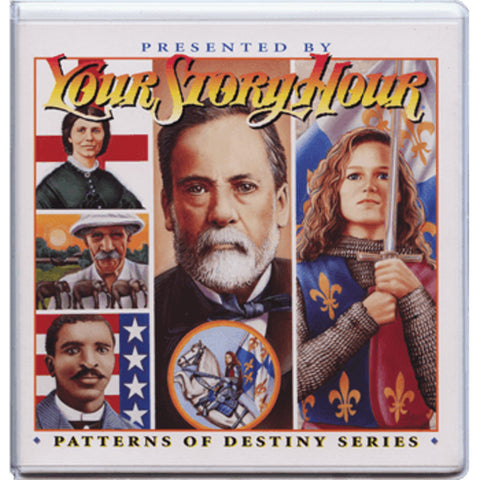Your Story Hour Patterns of Destiny Volume 7 Audio CD Carver Mueller Pasteur