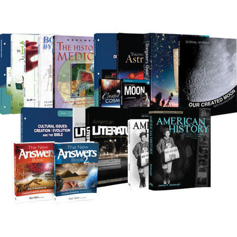 10th Grade Curriculum Set Biology Apologetics Literature
