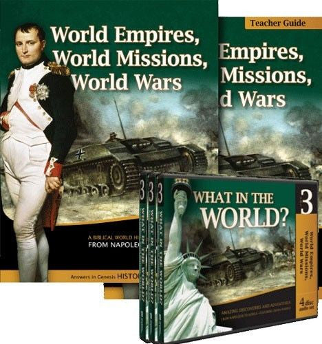 World Empires World Missions & World Wars Diana Waring WWW Sr High