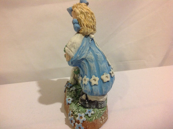 Grace Hand Sculpted Collectable Resin Figurine And God Bless Me! Kathie Alford