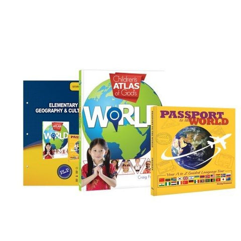 Elementary Geography & Cultures Curriculum Pack by Craig Froman for Grades 3-6