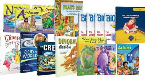 Biblical Beginnings for Preschoolers Set