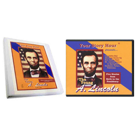 Set of Your Story Hour The Young Abe Lincoln Audio CD and Activity Book