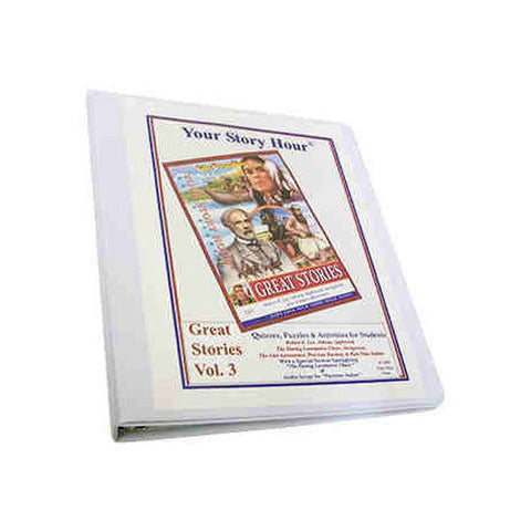 Your Story Hour Activity Book for Great Stories Volume 3 Binder Dover LEE