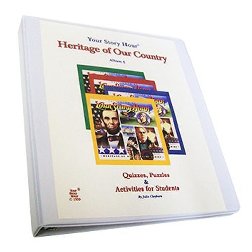 Your Story Hour Activity Book for Heritage of Our Country Volume 6 Binder