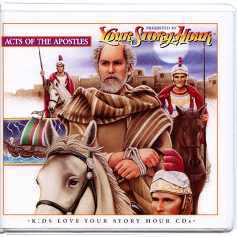 Your Story Hour Acts of the Apostles Audio Drama CD Album Paul Peter John