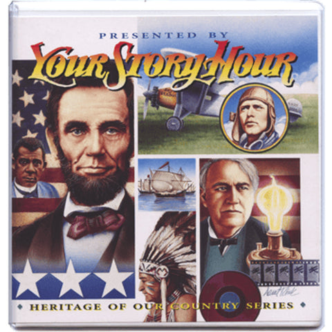 Your Story Hour Heritage of Our Country Volume 6 Lincoln Columbus Audio CD