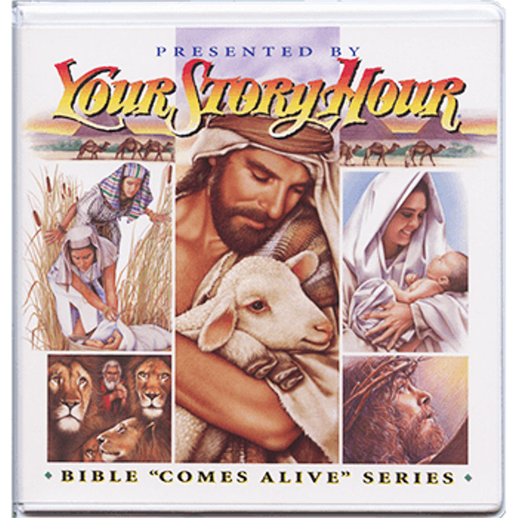 Your Story Hour Bible Comes Alive Volume 4 Audio CD album Job Esther Daniel
