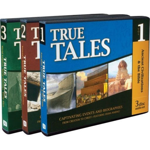 History Revealed: True Tales Set Volume 1 2 3 by Diana Waring
