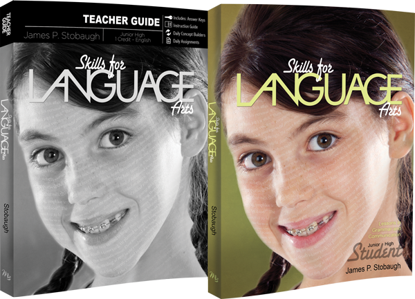 Skills for Language Arts Curriculum Pack by James Stobaugh for Jr High Grade 7 8 9