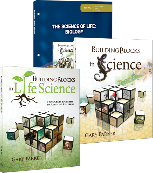 The Science of Life: Biology Curriculum Pack by Gary Parker Building Blocks 8 9