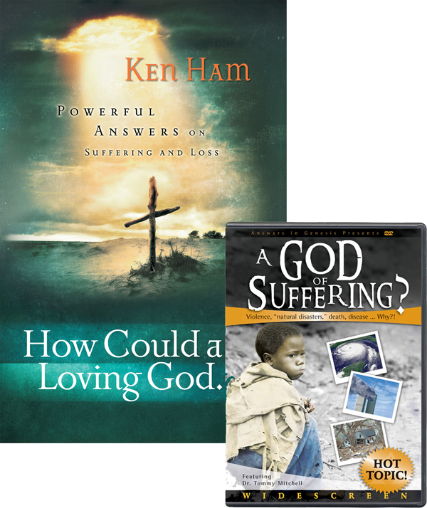 Understanding Suffering Pack by Ken Ham and Tommy Mitchell