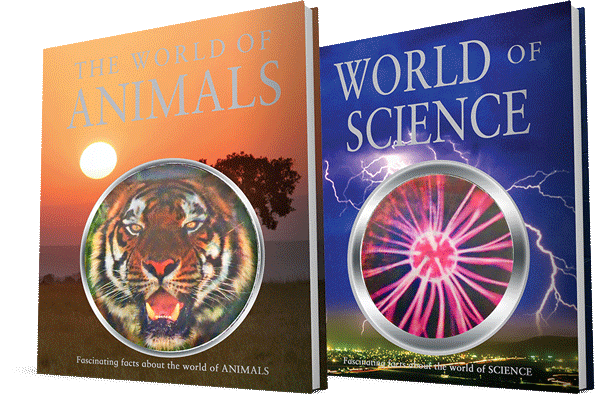 The World of Animals & World of Science Pack Jr High Grade 6 7 8