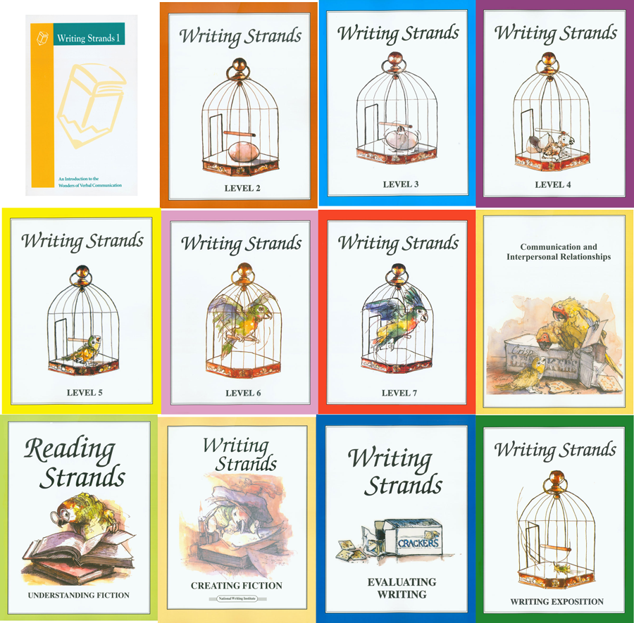 Writing Strands Curriculum Bundle by Dave Marks 12 PB Books Homeschooling