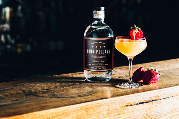 3 Amazing Four Pillars Gin Cocktails For Valentine's Day