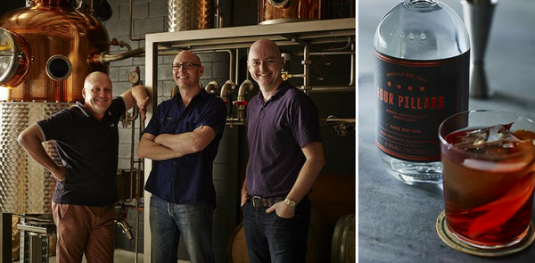 Gin Distiller and Happy Maker - Matt Jones of Four Pillars