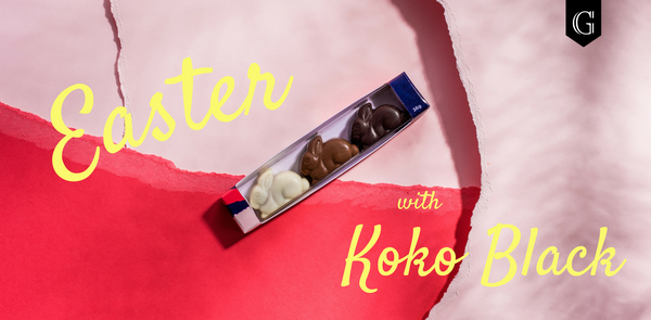 Easter chocolate with Koko Black