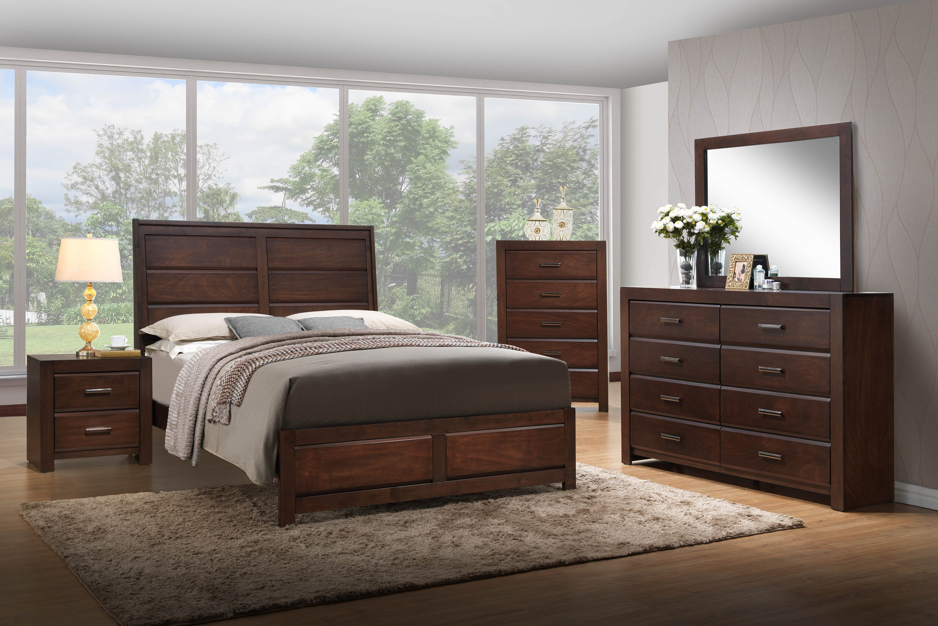 Millie Contemporary Bedroom Collection