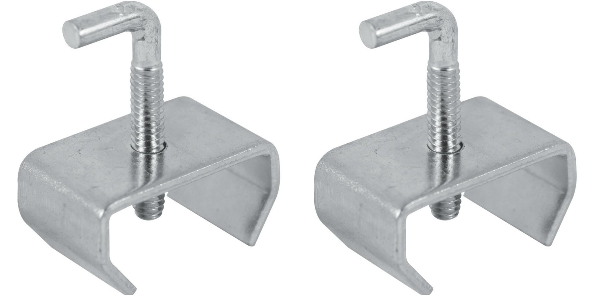 Bed Frame Rail Clamps For 1-1/4 Rails (Set Of Two) – Pilaster Designs