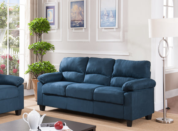 Joyland Sofa, Blue Fabric