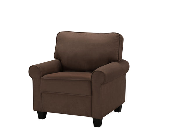 Fallsview Chair, Chocolate Fabric