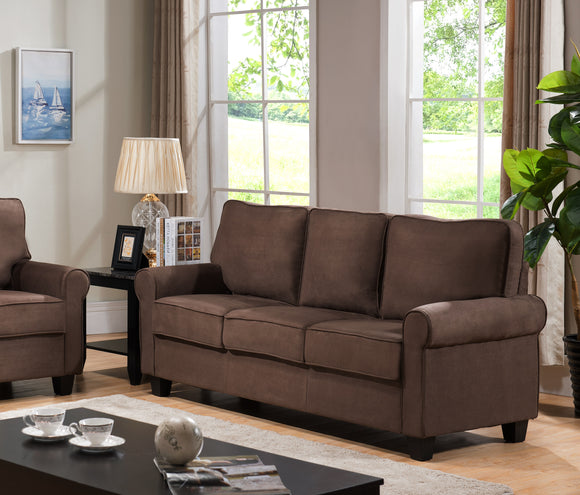 Fallsview Sofa, Chocolate Fabric
