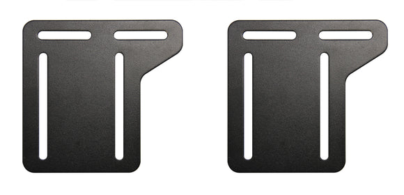 Black Metal Headboard Connector Modification Brackets Modi-Plates For Bed Frame (Set Of 2) (5