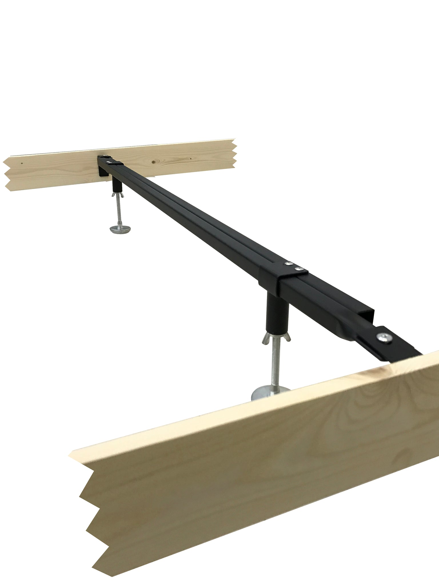 Metal Heavy Duty Center Support Rail System For Bed Frame