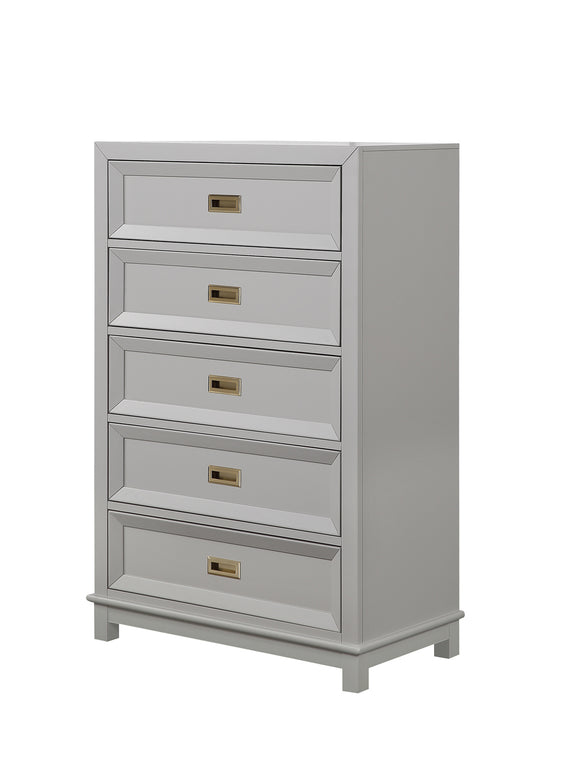Victoria Chest, Dove Gray Wood