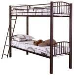 Carrie Convertible Bunk Bed, 30-Inch, Bronze Metal