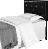 Addisyn Headboard, Black, Twin