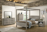 Manhattan Configurable Bedroom Set, Light Gray Wood
