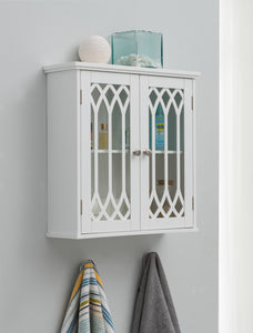 Helsinki Medicine Chest, White Wood - Pilaster Designs