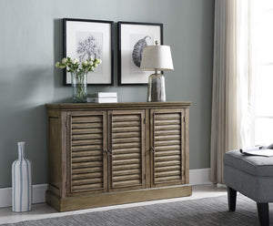 Mason Antique Wash Wood Rustic Sideboard Buffet Console Table With Storage Cabinets & Shelves - Pilaster Designs