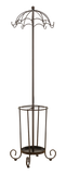 Burgess Coat, Hat & Umbrella Rack, Bronze Metal