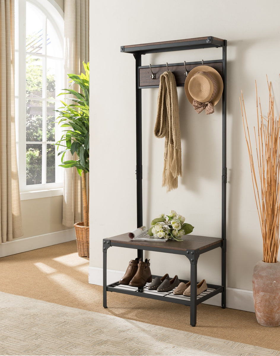 Coat And Shoe Storage Entryway