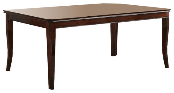 Rowena Dining Room Table, Cherry Wood