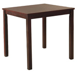 Liz Dining Set, Espresso Wood