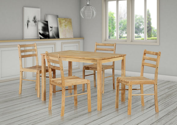 Ida 5 Piece Natural Wood 43