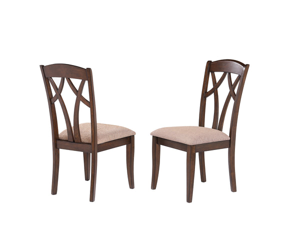 Mindy Dining Chairs, Cherry Wood