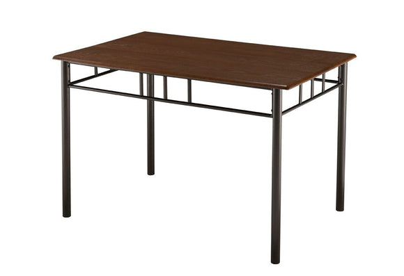 Tuscan Dining Table, Rectangular, Cherry Metal & Wood