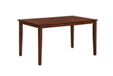 Tanya Dining Table, Cappuccino Solid Wood