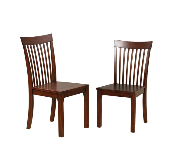Tanya Dining Chairs, Cappuccino Solid Wood