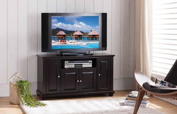 Ruth Entertainment Center, Dark Cherry Wood