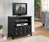 River Entertainment Center, Black Wood