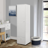 Tavish Wardrobe, White Wood