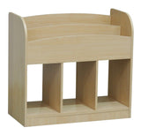 Tobler Bookcase, Natural Wood